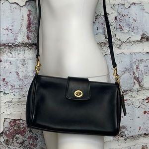 Coach crossbody purse or clutch vintage black